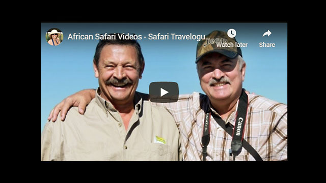 Safari Travelogue - Part 1 - South Africa (Louis re-connects with his brother after 39 years!)