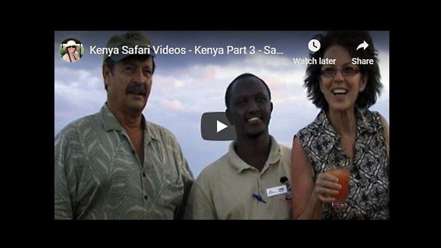 Kenya Safari Video - Africa Travelogue Part 3 | Samburu Game Reserve