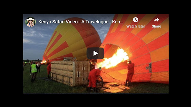 Kenya Safari Video - Africa Travelogue Part 6 | The Masai Mara