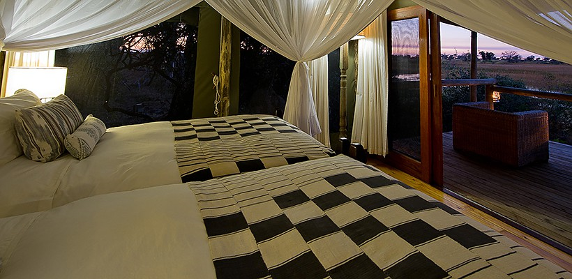 Little Vumbura Camp with Wilderness Safaris - www.photo-safaris.com