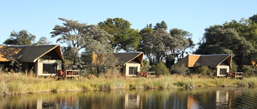 Kwando Lagoon Camp (Chobe / Linyanti Region) Botswana - www.photo-safaris.com